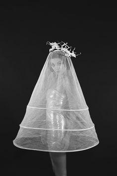 Photo: Veronika Belyaeva Style: Anna Hrustaleva MUAH: Mira Мира Скамницкая Models: Sasha Nam / Gera Scandal Hat by Iva Ksenevich