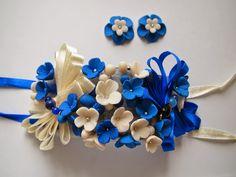 Brățări pentru domnişoare de onoare Hanukkah, Wreaths, Flowers, Handmade, Decor, Fimo, Hand Made, Decoration, Florals