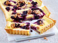 Heidelbeer-Tarte mit Amaretti Rezept