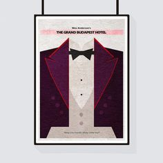 The Grand Budapest Hotel Minimalist Alternative by CelluloidJunkie