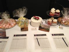 A dessert auction is easy money.  Nearly every one we offered sold for 200% or more above average yield at a silent auction.  $100 cake anyone?