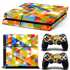 GOOOD PS4 Designer Skin Decal for PlayStation 4 Console System and PS4 Wireless Dualshock Controller - Color Mixed Colors 1 GOOOD http://www.amazon.com/dp/B016W0IL4I/ref=cm_sw_r_pi_dp_zB1rwb10YFY5J