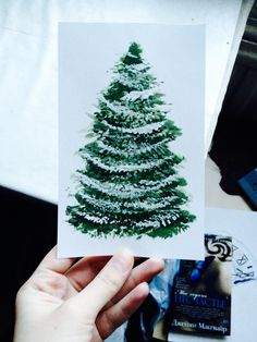 #giftcard #pinetree #cristmastree #drawing