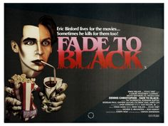 1980 Fade to Black Dennis Christopher movie poster print