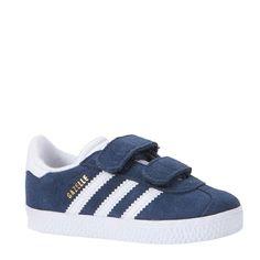 adidas originals Gazelle CF I sneakers kids, Donkerblauw/wit