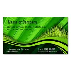 239 best gardening business cards images on pinterest in 2018 gardening grass business card wajeb Choice Image