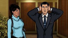 Custom Sterling Archer Quotes Silk Poster Wall Decor 24x36 Inch