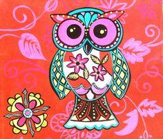 'Bold Owl' by Barbara Werrett Nielsen