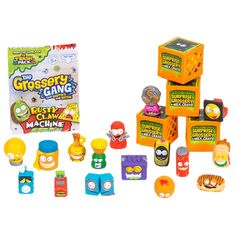 The Grossery Gang Series 2 - Mega Pack Best Christmas Toys, Claw Machine, Cool Avatars, Milk Crates, Mega Pack, Lost & Found, Toy Store, 3rd Birthday, Doodles