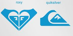 Roxy is a company that specializes in clothing and accessories for girls who love snowboarding, surfing… The company is actually a part of Quiksilver. The Roxy logo is made of two Quiksilver logos that form a heart.