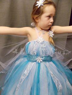 "Queen Elsa ""Frozen"" Inspired Tutu Dress - 4Ever Tutus"