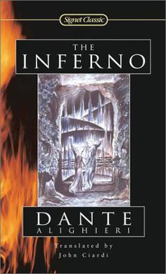 The Inferno by Dante Alighieri Join Book Cover Daily in a celebration of great scary stories for the entire month of October! I Love Books, Great Books, Books To Read, My Books, Dantes Inferno, Dante Alighieri, I Love Reading, Book Title, Book Nooks
