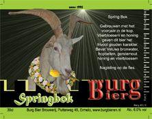Burg Bieren - Springbok 6.0%