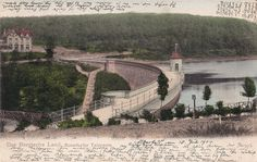 Historische Ansichtskarte / vintage picture postcard. Wuppertal, Ronsdorfer Talsperre / Ronsdorf Reservoir