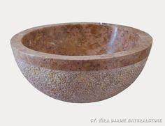 Sink Bowl Outside Mix Polish Hammer Color : Red Size: Ø 35 cm X H. 15 cm Ø 40 cm X H. 15 cm Ø 45 cm X H. 15 cm