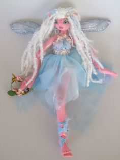 Soft ball jointed doll                  Midnight Summer's Dream Doll Attending fairy by Kaeriefaerie52, $35.00