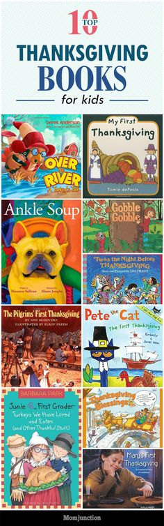 Top 10 Thanksgiving Books For Kids