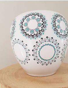 Mandala Painting, Dot Painting, Mandala Art, Pottery Painting, Ceramic Painting, Stone Painting, Painted Mugs, Painted Rocks, Mandala Rocks