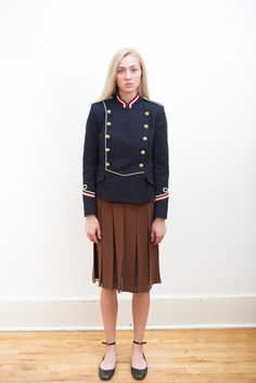 Étoile Isabel Marant Milford Navy Jacket