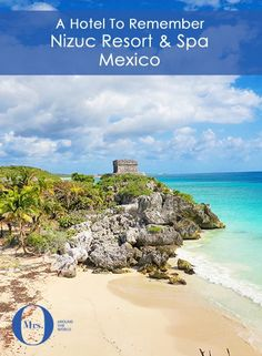 Nizuc Resort & Spa, Mexico, is located very close to Cancun, but a world away from its crowds. It's about 15 minutes from the edge of Cancun and is wonderful. Located down the Riviera Maya coast, around 90 minutes to 2 hours away from the hotel, are the ancient ruins of Tulum.