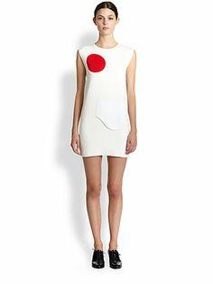 J.W. Anderson - Dot Pocket Dress - Saks.com