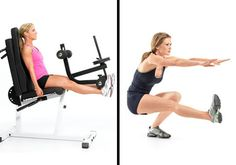 5 exercise machines to avoid...but more importantly: the better versions to work the same muscles!