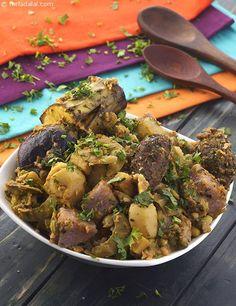 Oondhiya ( Gujarati Recipe) recipe | Undhiyo Recipe | by Tarla Dalal | Tarladalal.com | #602