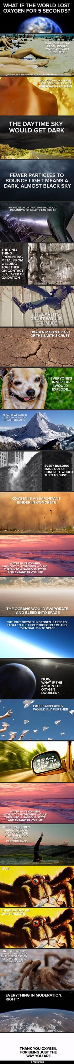 If The World Lost Oxygen For 5 Seconds#funny #lol #lolzonline