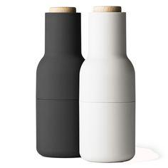 Salz- und Pfeffermühle Bottle Grinder Cooler Look für Salz- und Pfeffe