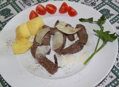 Tagliata of beef for lunch today