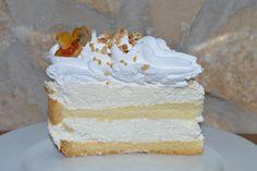 Ez nem semmi lehet: Oroszkrém torta babapiskótával (sütés nélkül) Vanilla Cake, Tej, Cukor, Desserts, Drinks, Food, Tailgate Desserts, Drinking, Deserts