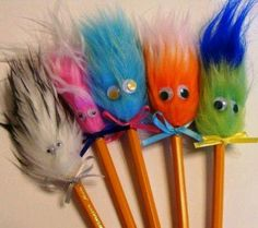 I loved these! Remember you would spin them in your hands to make their hair spin out! : )