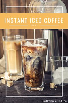 Instant Coffee Makes Great Iced Coffee! My Best Instant Iced Coffee Recipe Instant coffee can make fantastic iced coffee in 2 minutes flat. Check out my best recipe for instant iced coffee. Instant Iced Coffee Recipe, Best Instant Coffee, Cold Brew Coffee Recipe, Best Iced Coffee, Iced Coffee At Home, Iced Coffee Drinks, Coffee Blog, Coffee Uses, Coffee Tasting