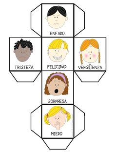 Teaching Children Emotions Autism 55 Ideas For 2019 Spanish Lessons, Teaching Spanish, Teaching Kids, Bilingual Education, Kids Education, Emotional Child, Feelings And Emotions, Yoga For Kids, Teaching Materials