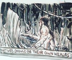 I watched Tarzan (live action) and I enjoyed it. But I couldn't help thinking about Dances with Wolves and Avatar and several other shows where it's an outsider that is the hero because it could only be that outsider. .  I'm not against any race being hero to another race it has happened historically but it shouldn't be our default. .  In my story Tomy and Jon they come along side the natives and join them not as the heroes per de but as one more family caught in a war and bring their skills…