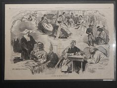 Winslow Homer: 2 Prints. Our Women And The War & Great Fair