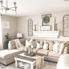 beautiful farmhouse living room design and decor ideas 45 – Furniture and Door Decoration Farmhouse Decor Living Room, Farm House Living Room, Curtains Living Room, Farmhouse Wall Decor Living Room, Apartment Living Room, Home Decor, Apartment Decor, Living Room Sofa Design, Living Room Decor Rustic