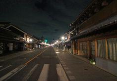 夜散歩のススメ「川越蔵造り中央通り」埼玉県川越市