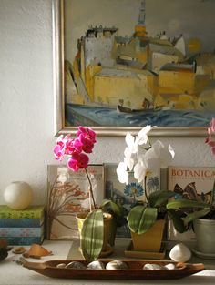 Painting and Orchids