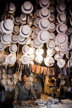 Panama Hat Making in Ecuador