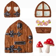 Anyana 3d Fairy House Christmas Silicone Fondant Mold Cake Decorating Pastry Gum Pastry Tool Kitchen Tool Sugar Paste Baking Mould Cookie Pastry >>> Check this awesome product by going to the link at the image.