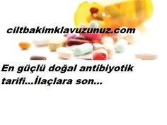 En güçlü doğal antibiyotik tarifi