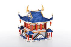 Asian Architecture, Lego Architecture, Lego Building Blocks, Chinese Martial Arts, Lego Creations, Lego Ninjago, Lego City, Japanese Art, Legos