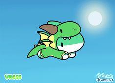 Draw Sharks I'm a Dragon! by Vress-shark - Cute Animal Drawings, Kawaii Drawings, Cute Drawings, Pet Shark, Baby Shark, Cute Kawaii Animals, Cute Baby Animals, Cute Memes, Funny Cute