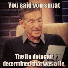To all the gym goers who skip out on lower body work outs!...quit lying! we see you training biceps and chest everyday lol