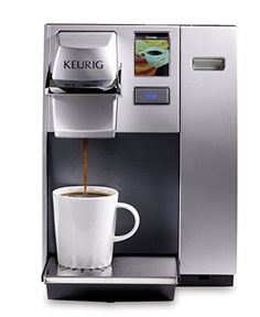 KeurigK155 Office Pro Single Cup Commercial K-Cup Pod Coffee Maker, Silver * Be sure to check out this helpful article. #CoffeeMakers