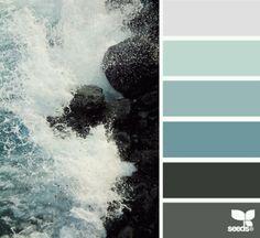 The sea colors...