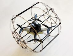 This quadrotor flies -- and rolls -- over just about anything | Crave - CNET