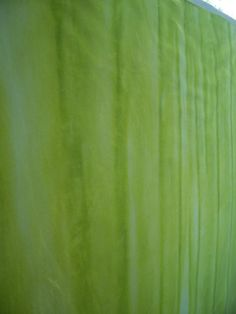 Hand dyed cotton sateen fabric  one yard  light to dark minty green by LindaHarvey,