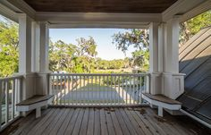 Outdoor Living | Spacious Balcony | Lowcountry Living | Vacation Real Estate Bluffton, South Carolina